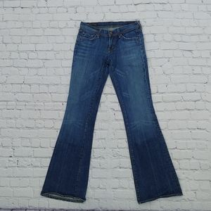 Citizens of Humanity 26x33 Low Rise Flare Jeans